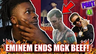 Eminem Ends MGK BEEF !? | Eminem - Unaccommodating (ft. Young M.A) REACTION!