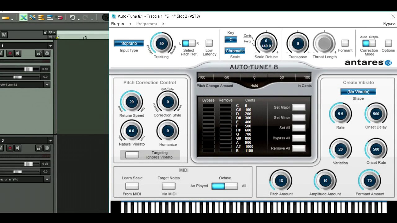 How to use Antares Auto Tune 8 in Samplitude X2 - Force Samplitude to recognize Autotune