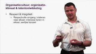 - Advanced Module Talentontwikkeling: Sociaalpsychologische kant van de organisatie (4)