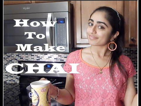 Nina's Kitchen! How To Make Chai -Indian Tea