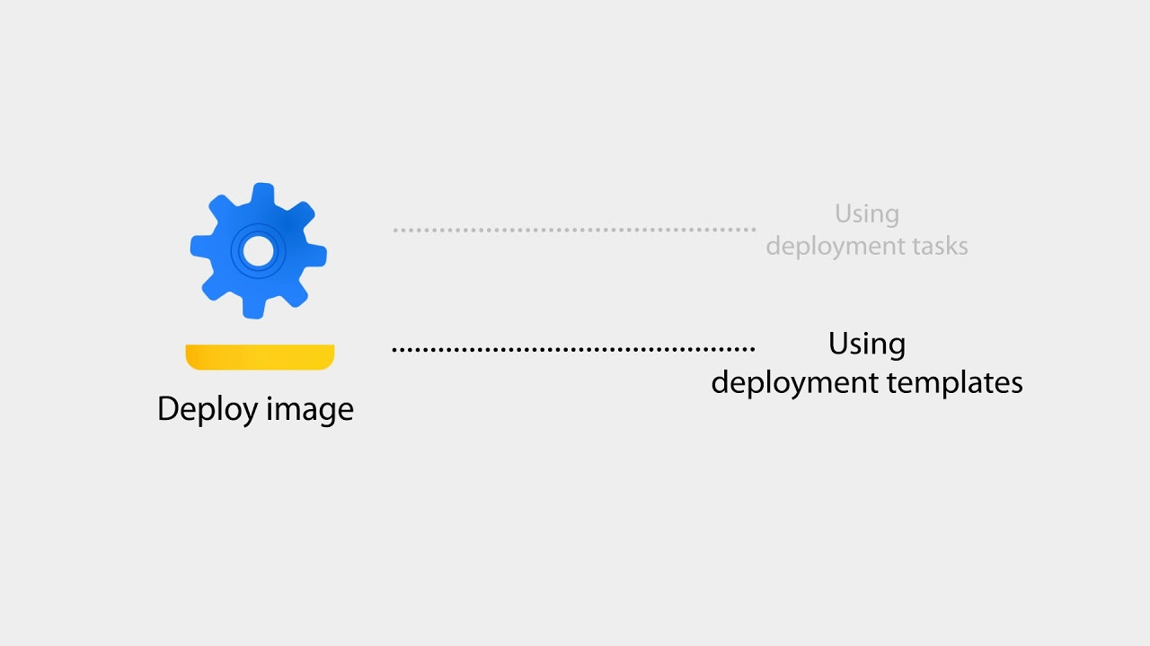 OS imaging and deployment with ManageEngine Desktop Central - Deploying an OS image