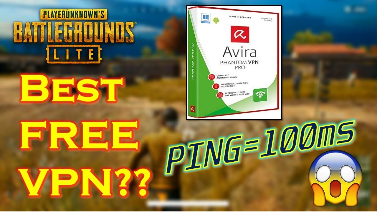 PUBG LITE (PC) | Best FREE VPN to Play with 100ms Ping!!