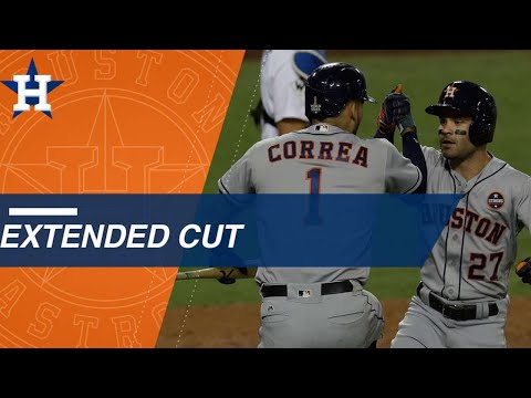 Extended Cut: Jose Altuve, Carlos Correa combine for historic back-to-back homers