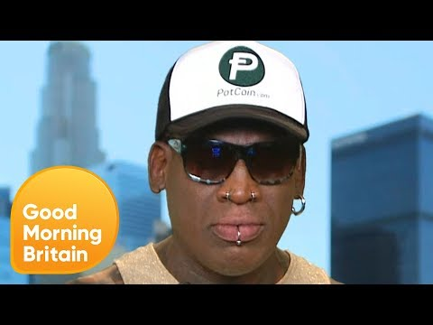 Dennis Rodman Sheds Light on His Friendship With Kim Jong-Un | Good Morning Britain