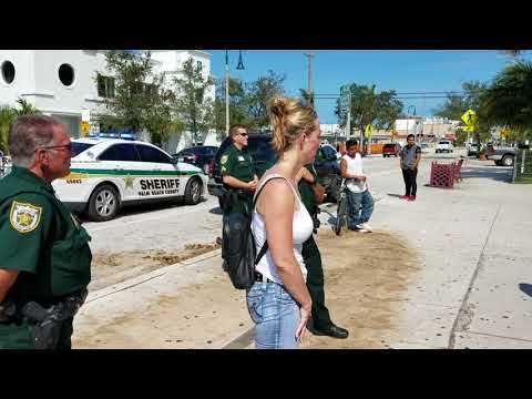 Palm beach Sheriff office intimidating a migrant worker