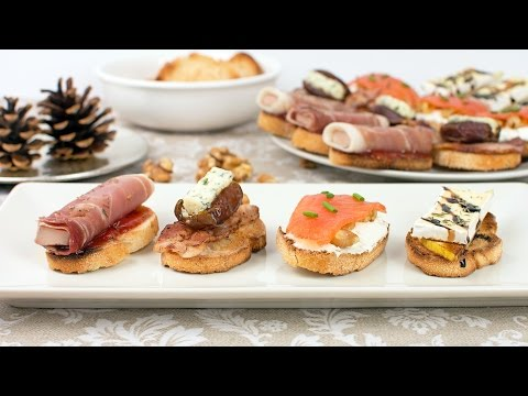 4 Christmas Appetizer Ideas – Quick & Easy Crostini Recipes