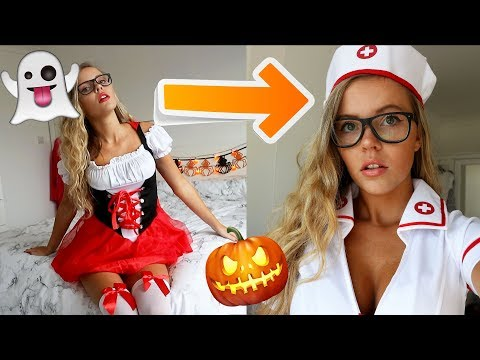 I Wore SEXY HALLOWEEN COSTUMES for an ENTIRE WEEK!