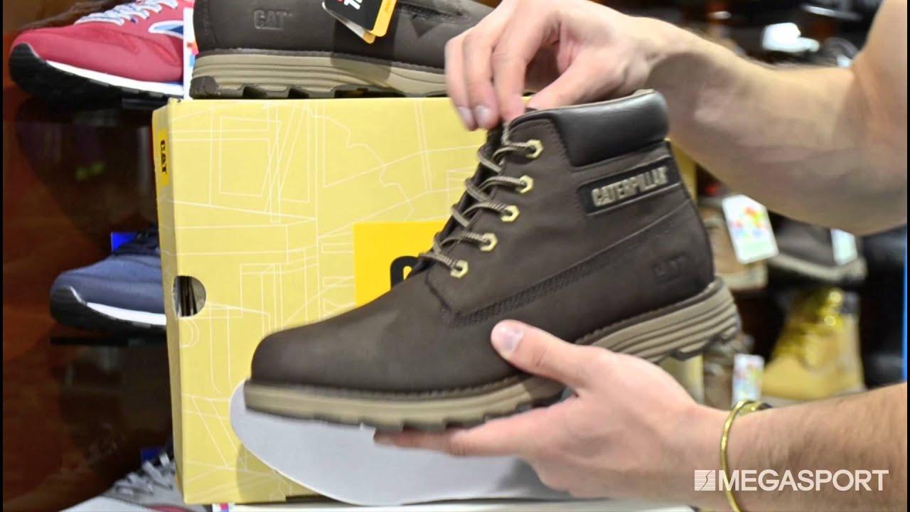 Коричневые зимние женские ботинки CAT(катерпиллер) с мехом - YouTube