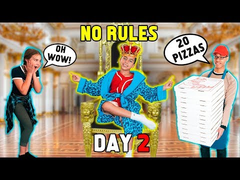 HOME ALONE WITHOUT MY PARENTS! *DAY 2* | The Royalty Family
