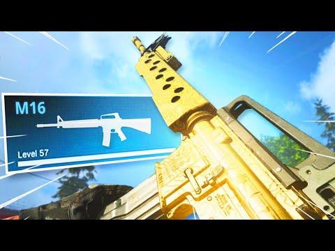 The M16 Is UNBELIEVABLE In WARZONE! MELTS EVERYONE!! (Modern Warfare Warzone)