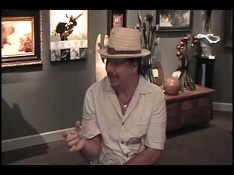 Kevin Pourier Talks Butterflies & Sitting Bull.  Live @ Lovetts Gallery