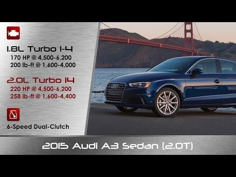 2015 Audi A3 2.0T Review and Road Test - DETAILED!