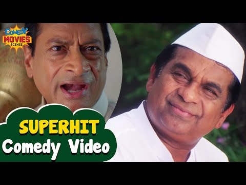 Thumbnail: Best Comedy Videos | Brahmanandam and Ms Narayan Comedy | Latest Comedy Scenes | Mr Medhavi Film