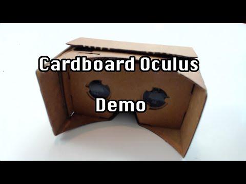 Cardboard Oculus Demo - GamePlay