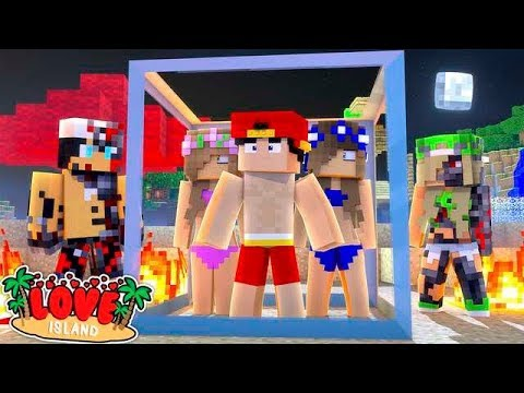 Minecraft LOVE ISLAND - THE EVIL ROBOTS ARE TAKING OVER!!