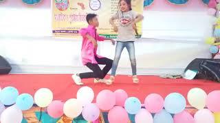 Toky deyesi dil dil (cover dance) performance by  Utsob& Nisa choreography  Jiki Chakma