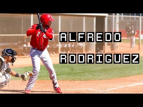 Alfredo Rodriguez from 2017 Cincinnati Reds spring training
