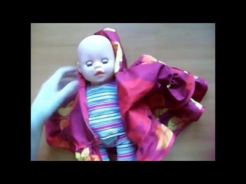 дождевик для Бэби Бона - YouTube