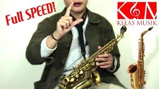 Belajar Saxophone - Cara Bermain Cepat Saxophone - Kelas Musik