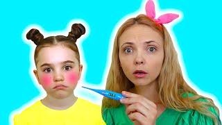 Sick Song by Polina Fun | 동요와 아이 노래 | 어린이 교육