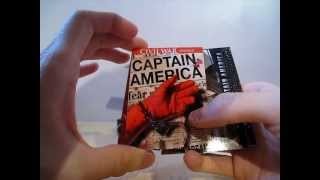 2011 Upper Deck Marvel Captain America Movie Trading Card Box Break