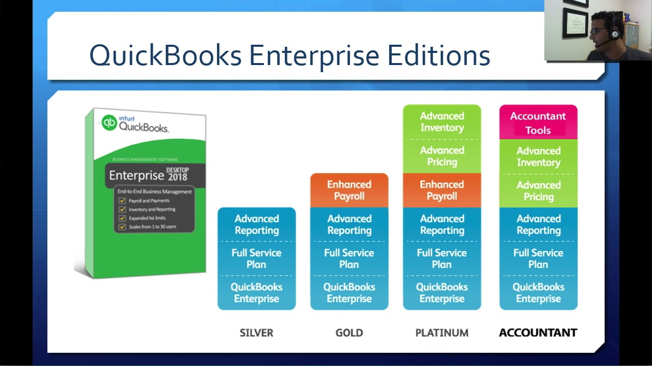 What is new in QuickBooks Enterprise 2018