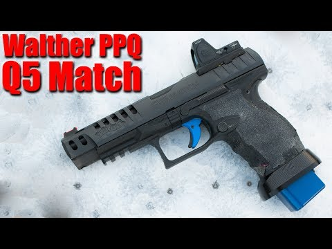 Walther PPQ Q5 Match Full Review: Most Accurate Pistol Ever?