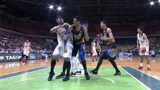 Eric Camson and Raymond Almazan went at it in the second quarter! | PBA Philippine Cup 2018