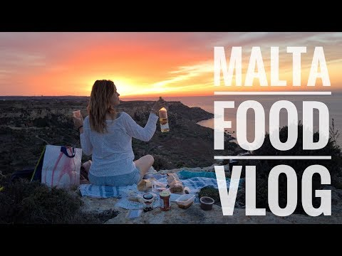 MALTA FOOD VLOG. WHAT I EAT IN A DAY (URLAUBS-EDITION)