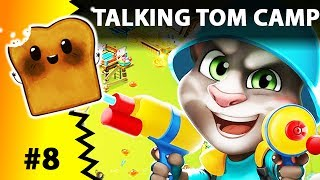 TALKING TOM CAMP Gameplay Game and Walkthrough Level 10