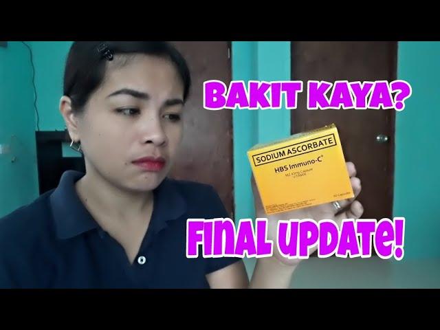 Muntik na akong Tumaba sa pag inom ko ng HBS Immuno-C/ Final Update
