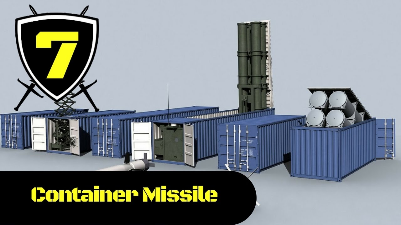Russian container missile complex club k youtube for Surface container