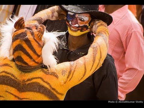 Ganesh Utsav brahmavara, Huli vesha(tiger dance) Mp4