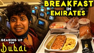 Emirates Flight Food is CLASSY - THE BEST AIRLINE - Trip to Dubai!!! | Irfan's View