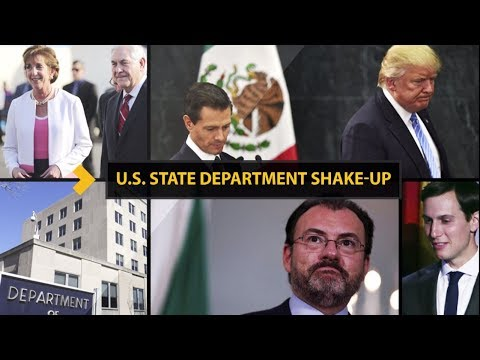 US State Department Shake-up