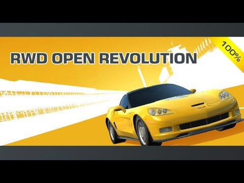 Real Racing 3 # PRO # RWD Open Revolution Completed On Chevrolet Corvette ZR1 #Melbourne