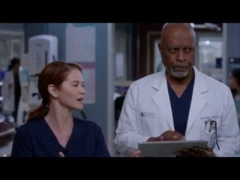 Grey's Anatomy 14x10 April ''Dr Webber Played Me?'' - YouTube
