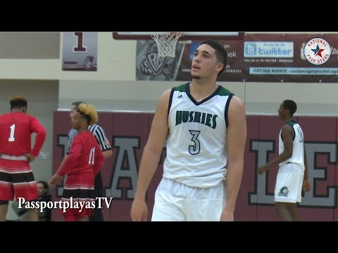 """""""Ball Brothers"""" Live game of Chino Hills before the """"Big Baller Brand"""""""