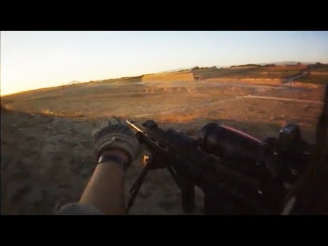 U.S. Marines Firefight With Taliban During Opium Seizure   Part 2/3