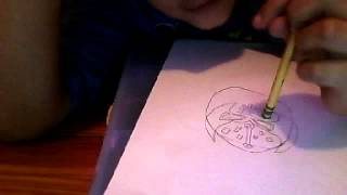 how to draw sin cara
