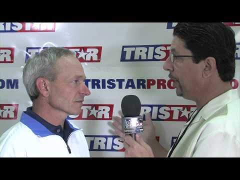 Artie Clear interviews Steve Cauthen at the 33rd Annual National in Baltimore, MD