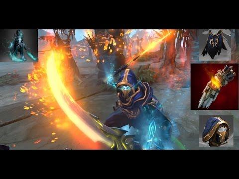 Dota 2 Phantom Assassin Mix Set Creeping Shadow With