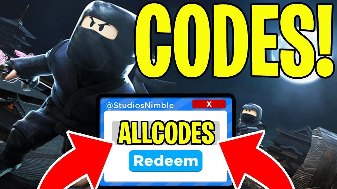 All 13 Ninja Masters Codes Roblox New Update 4