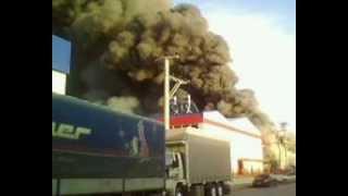 пожар в турции
