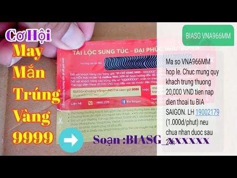 Cách Soạn Tin Nhắn Trúng Thưởng Bia Sài Gòn