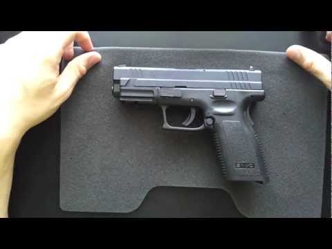Springfield XD 40 Field Strip