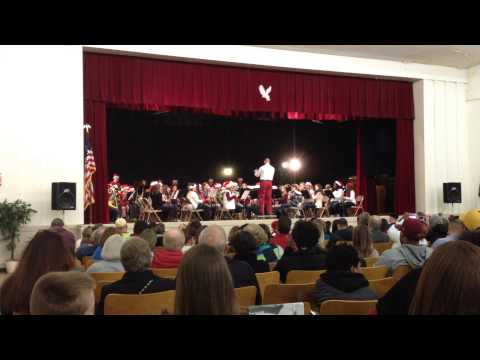 Mount Holly Middle School Band 7th grade 12/04/14