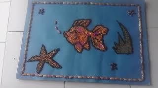 Mozaik ikan mas
