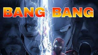 BANG BANG (SAAHO) || ft.AVENGERS ||Marvel song || by MUSICAL POWER