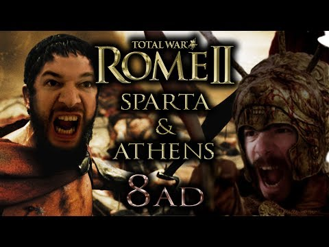 ROME Total War II - Athens & Sparta | #8